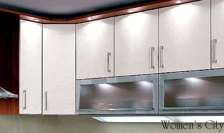 Подсветка шкафчиков на кухне.