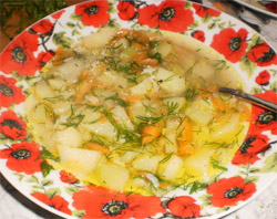 Суп из кабачков с мясом (фото)