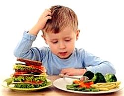 Правильный выбор продуктов убережет ребенка от развития кариеса