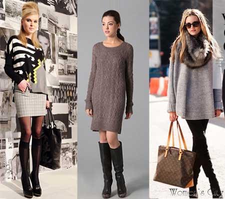 зима 2012 фото мода