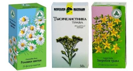 Лечебные травы для ухода за кожей лица