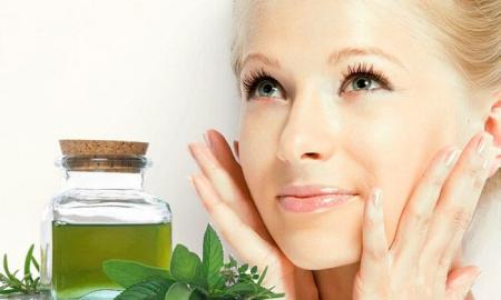 Эфирное масло мяты для кожи лица (фото)