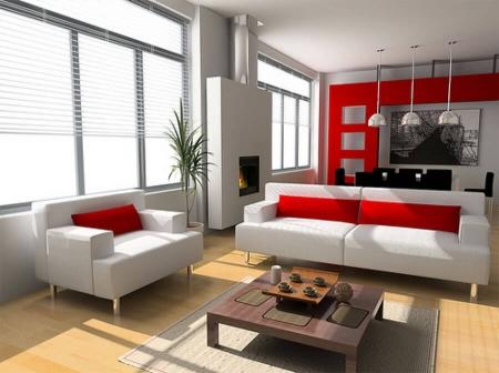 Интеграция гостиной и кухни (фото)