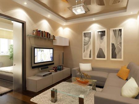 Местное освещение в гостиной (фото)
