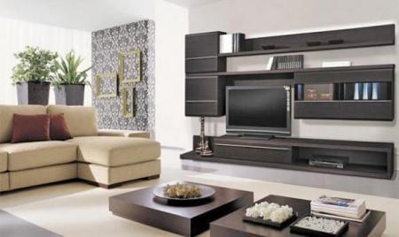 Выделение зоны отдыха в гостиной