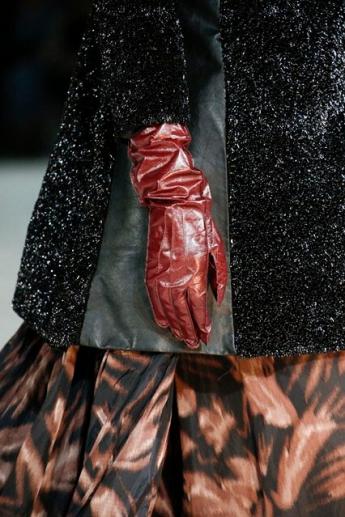 Модные кожаные женские перчатки от Marc Jacobs (фото)