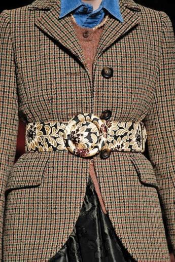 Модный ремень из коллекции Miu Miu 2016-2017 (фото)