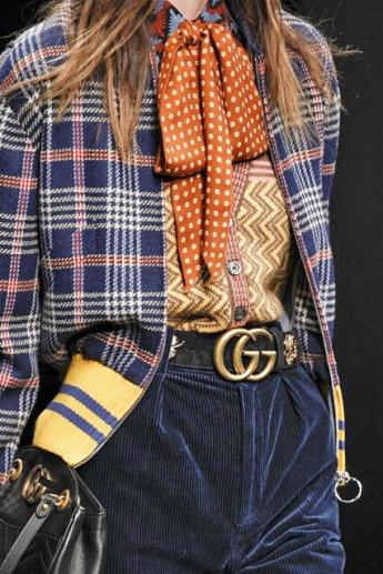 Ремень из коллекции Gucci (фото)