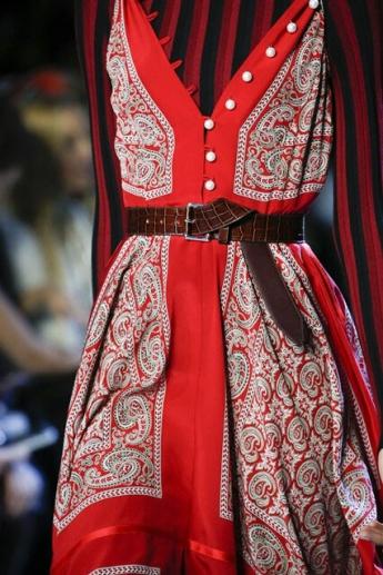 Модный ремень из коллекции Altuzarra 2016-2017 (фото)