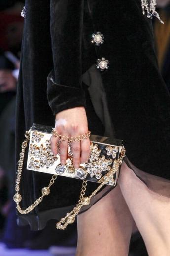 Модная сумочка со стразами от Dolce and Gabbana (фото)