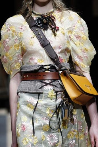 Модная женская сумка через плечо от Prada (фото)
