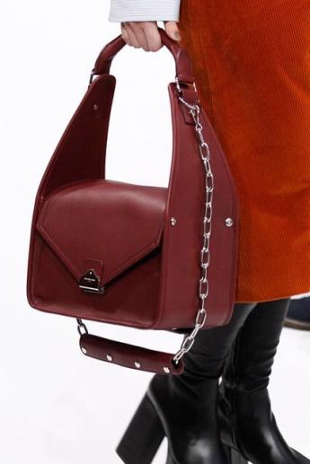 Модная сумка винного цвета из коллекции Balenciaga