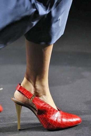 Модные туфли 2016 с открытой пяткой от Lanvin (фото)