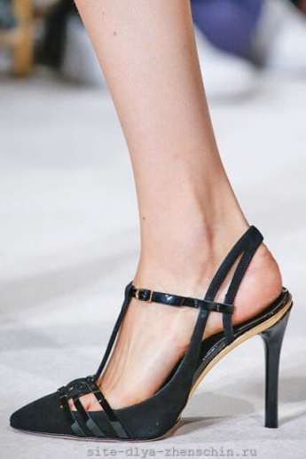 Туфли с открытой пяткой 2016