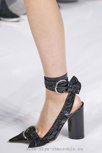Туфли с острым мыском 2016 из коллекции Christian Dior (фото)