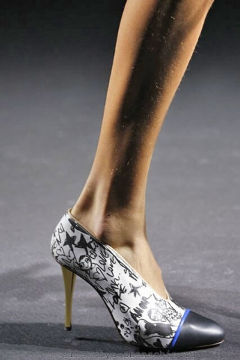 Художественное оформление туфель от Lanvin 2016 (фото)