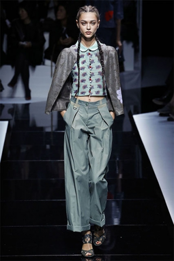 Широкие брюки тренд сезона