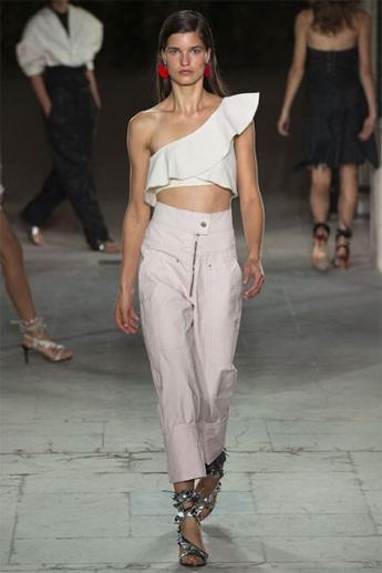 Женские брюки 2017 с завышенной талией