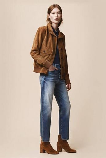 Модные прямые джинсы 2017