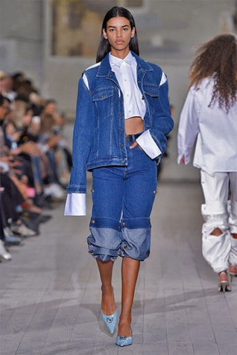Модные брюки с подворотом (фото)