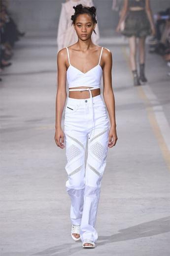 Модные белые джинсы 2017 (фото)
