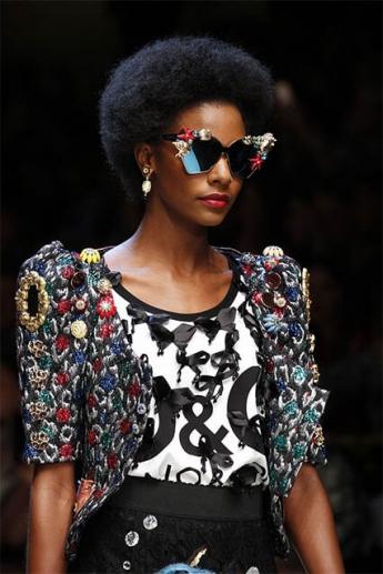 Очки-бабочки 2017 от Dolce & Gabbana (фото)