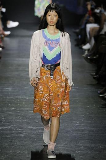 Модная юбка А-силуэта (фото)