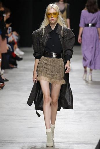 Модная юбка-мини (фото)