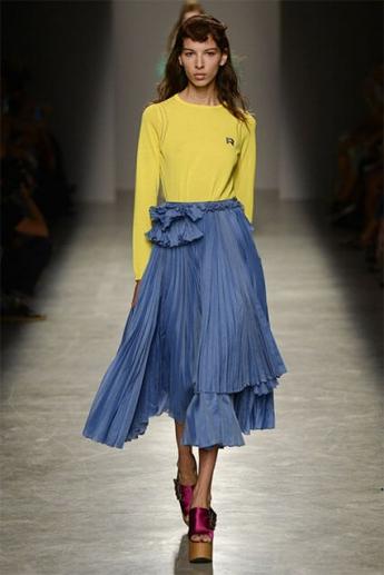 Модная юбка-плиссе 2017 (фото)