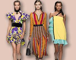 ca8485ab4a6 Модные платья весна-лето 2017 – расцветка