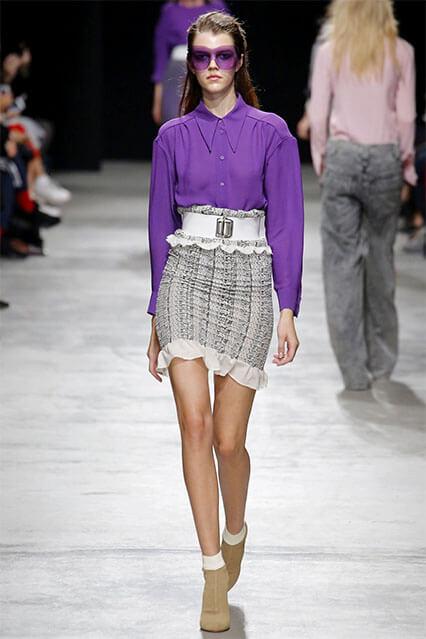 Актуальная длинна юбки
