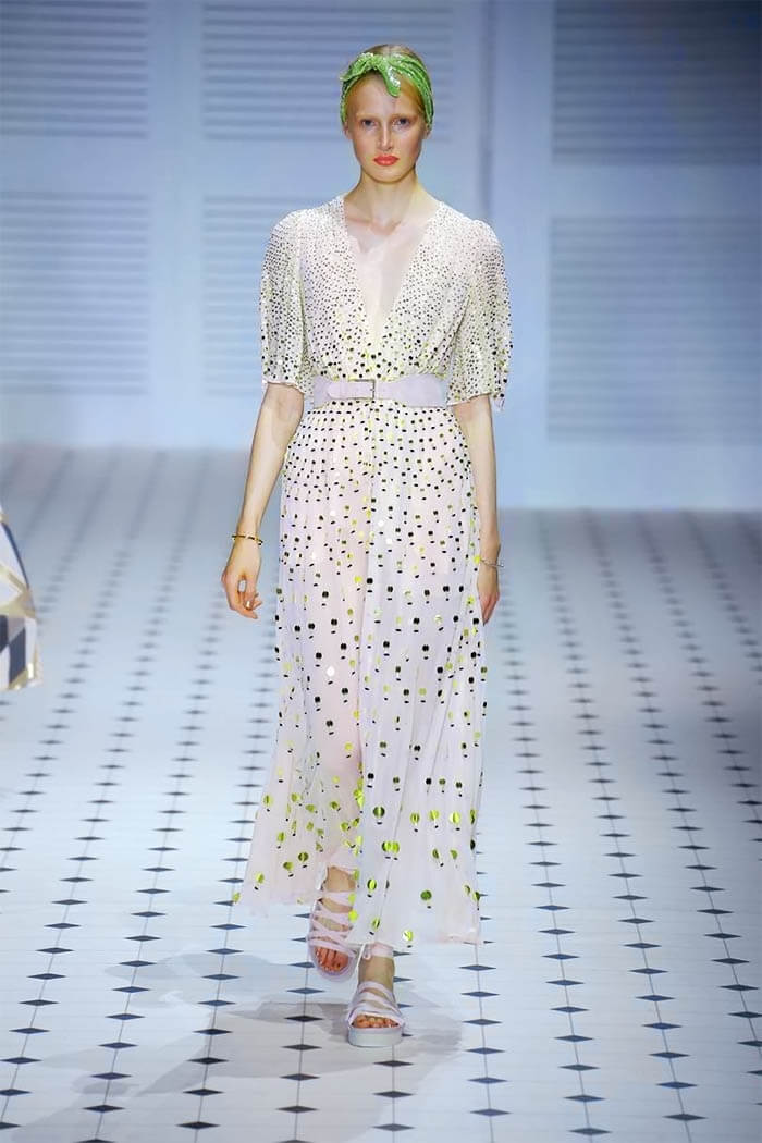 Платье в горошек (Temperley London)