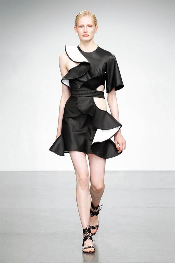 Платье из коллекции David Koma