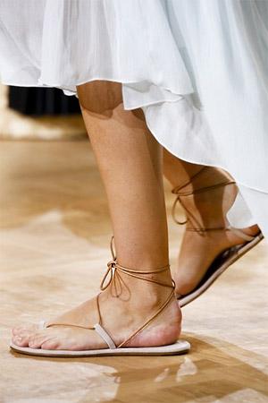 Римские сандали (фото)