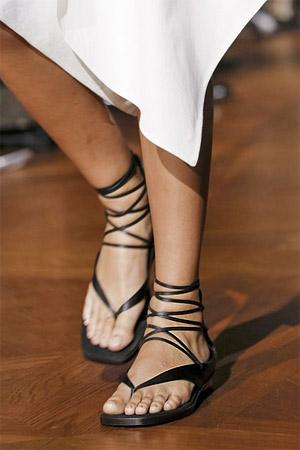 Модные римские сандалеты 2015 (фото)