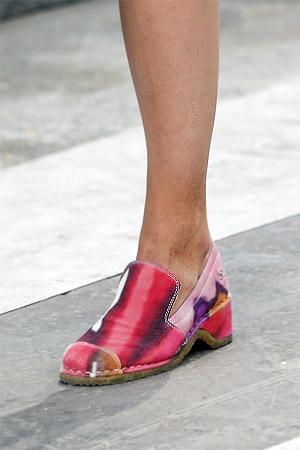 Модные лоферы лето 2015 из коллекции Chanel (фото)