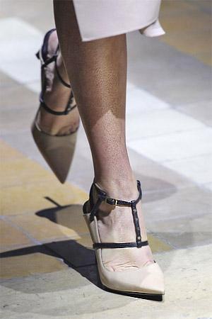 Туфли от бренда Lanvin из коллекции весна-лето