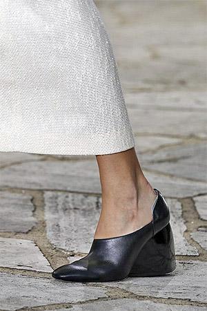 Туфли на танкетке из весенне-летней коллекции 2015 от Loewe (фото)