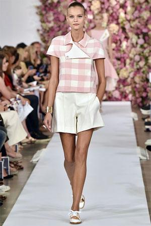 Красивые белые шорты от Oscar de la Renta (фото)