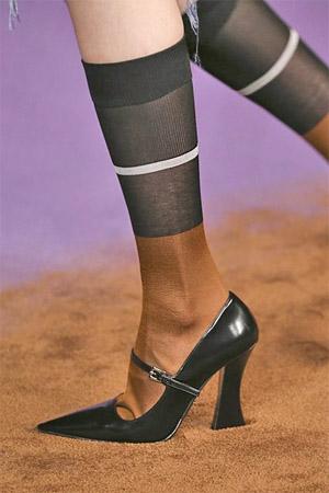 Туфли с острым мыском (фото)