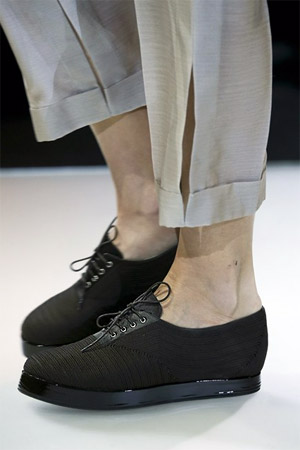 Модный фасон от Giorgio_Armani туфли криперы (фото)