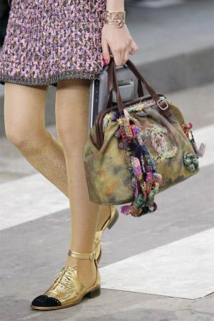 Модные туфли-оксфорды от Chanel (фото)