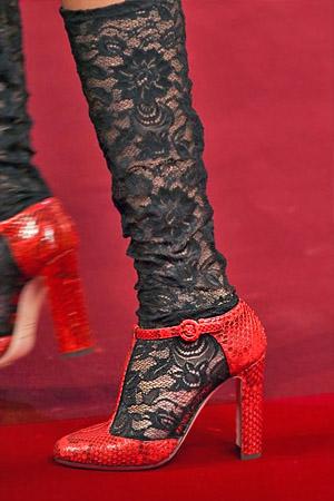 Кожаные туфли из коллекции Dolce and Gabbana 2015 (фото)