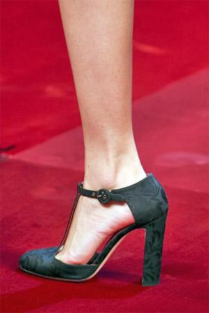 Туфли романтического стиля от Dolce and Gabbana (фото)