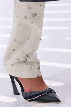 Модные черные туфли из коллекции Christian Dior весна-лето 2015 (фото)