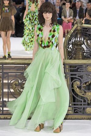 Светло-зеленый сарафан