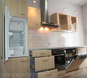 Встроенная кухонная техника.