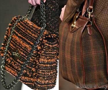 Вязаные сумочки сезона осень-зима 2012-2013.