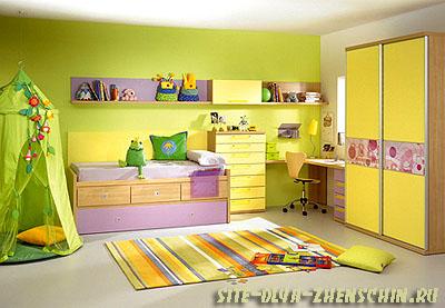 Выбор цвета для детской.