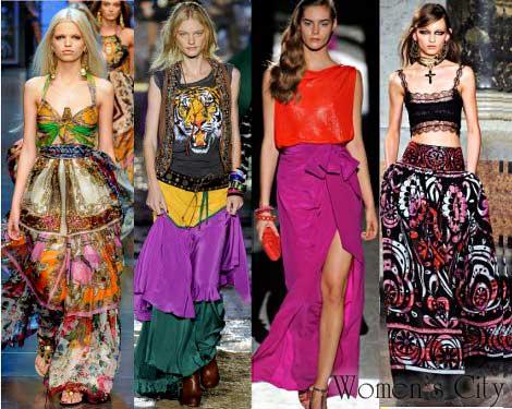Модные Юбки В Циганском Стиле